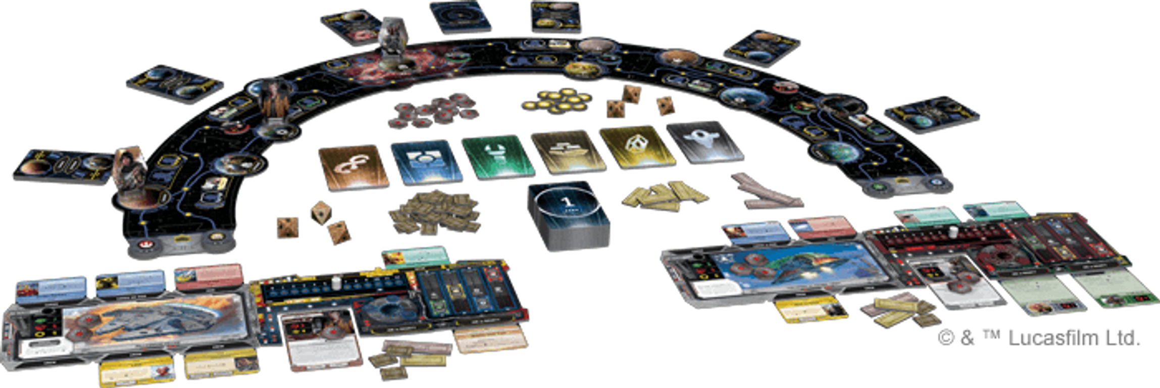 Star Wars: Outer Rim components