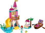 LEGO® Disney Ariel's Seaside Castle components