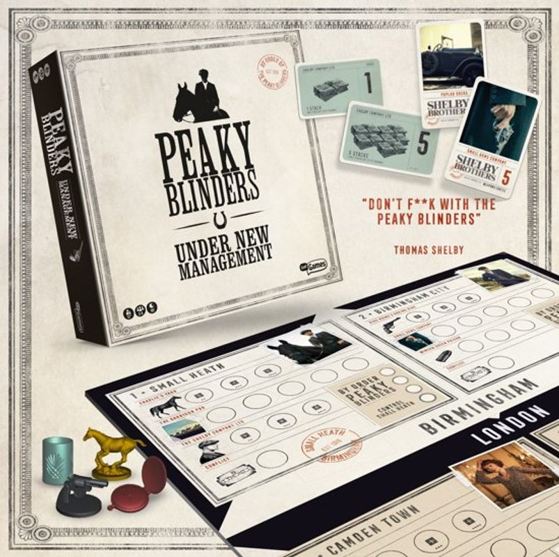 Peaky Blinders: Under New Management components