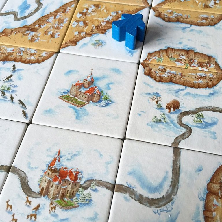 Carcassonne: Winter Edition gameplay