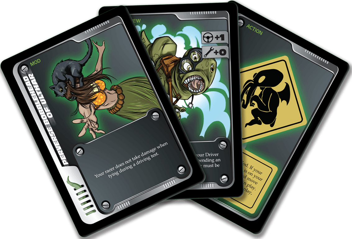 Fast & Fhtagn cards