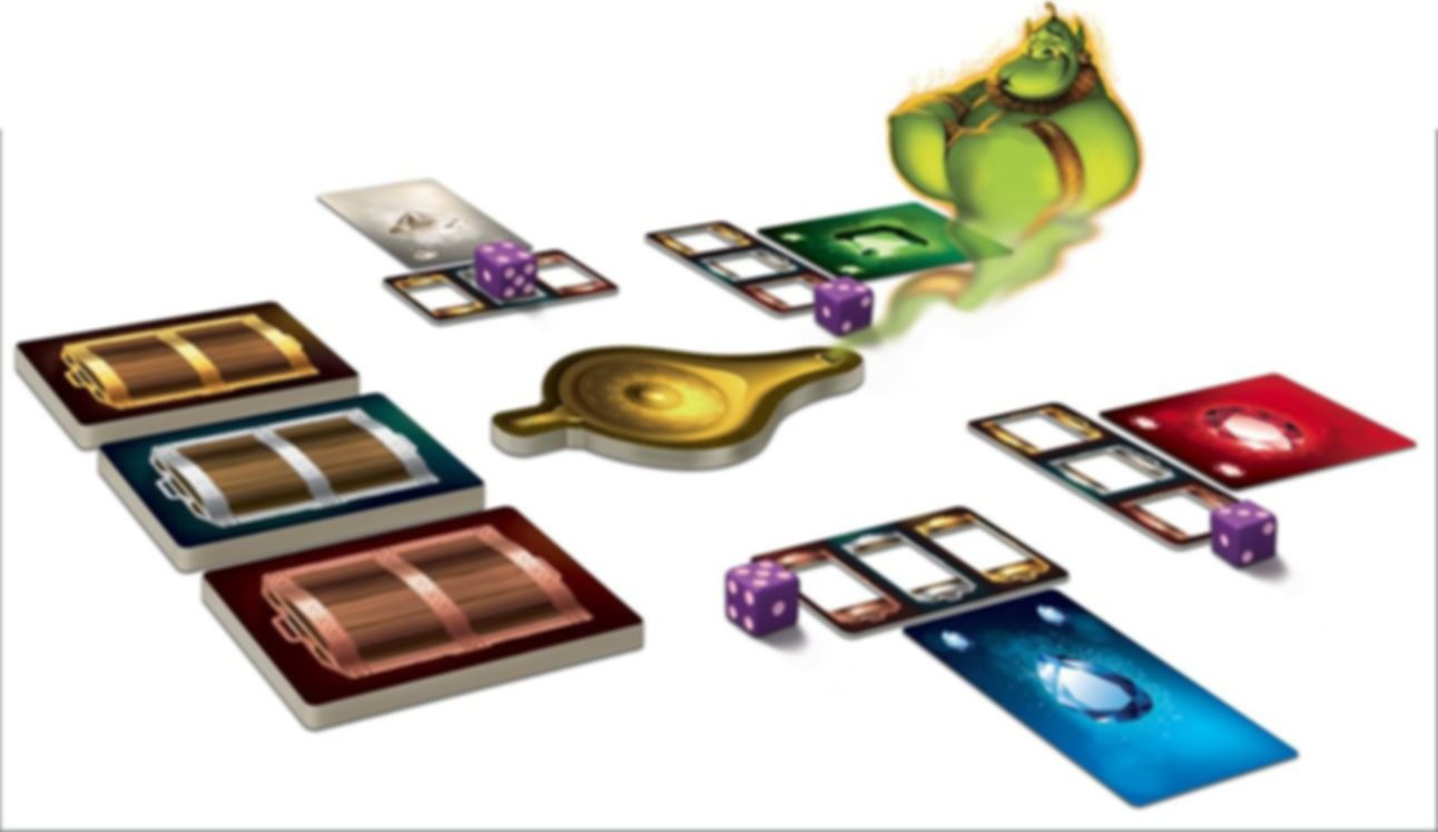 Tales & Games: Aladdin & The Magic Lamp components