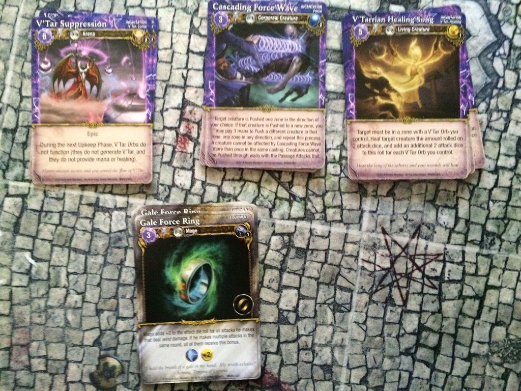 Mage Wars Arena: Battlegrounds Domination cards
