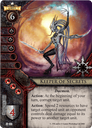 Warhammer: Invasion - Fiery Dawn keeper of secrets card