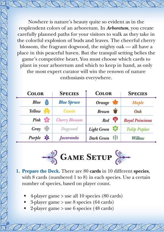 Arboretum Deluxe manual
