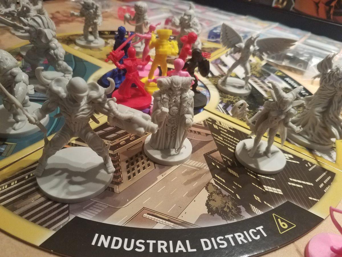Power Rangers: Heroes of the Grid miniatures