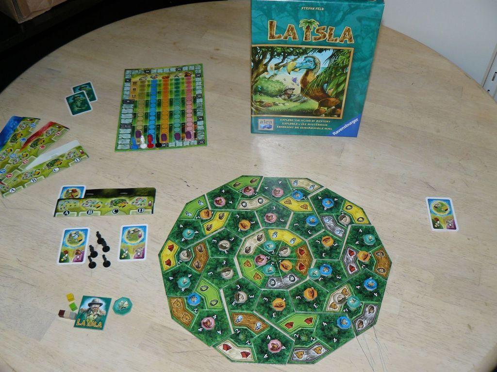 La Isla components
