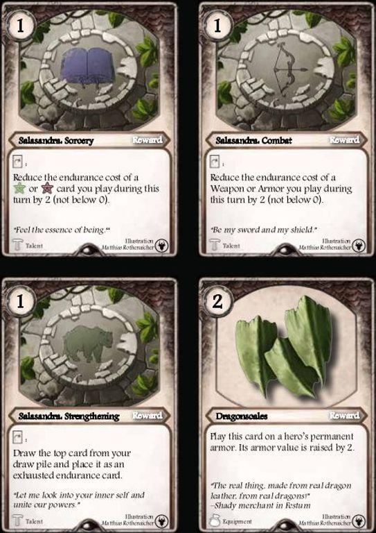 Aventuria: Tears of Fire cards