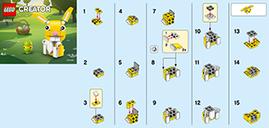 LEGO® Creator Easter Bunny (Polybag) manual