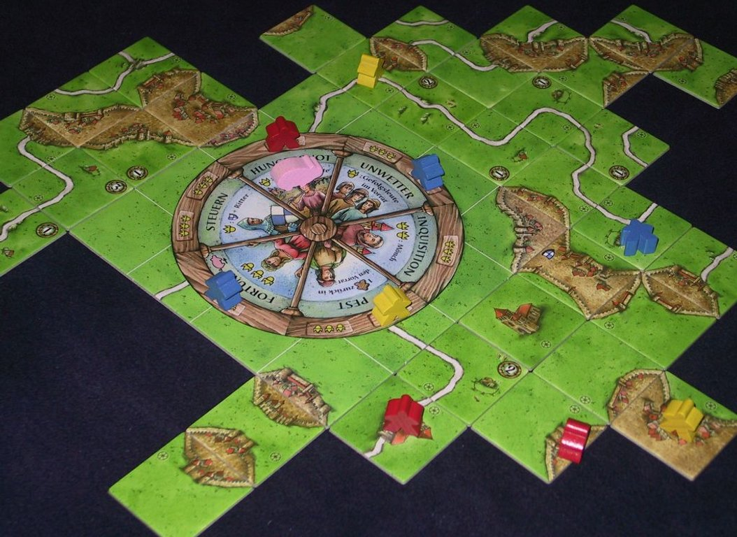 Carcassonne: Wheel of Fortune gameplay