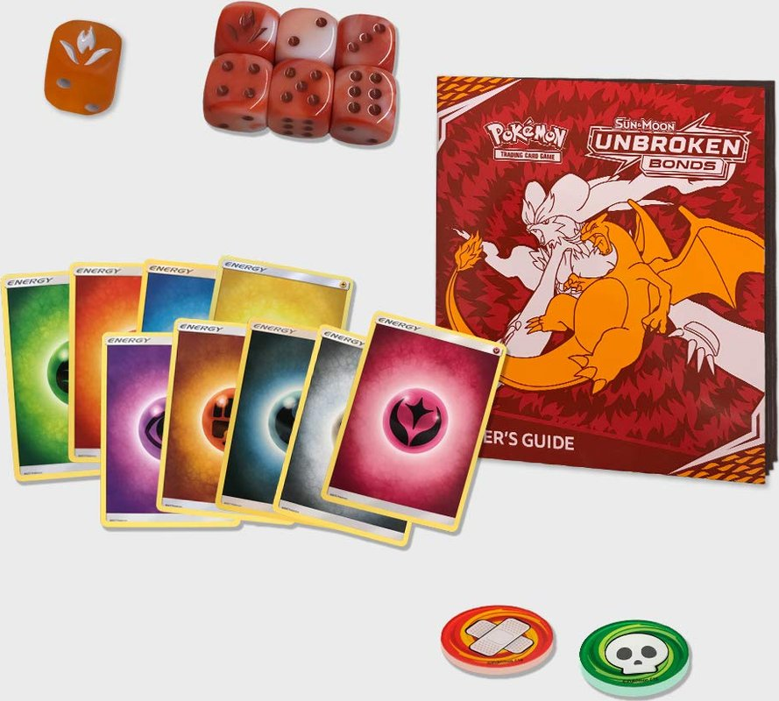 Pokémon TCG: Sun & Moon - Unbroken Bonds Elite Trainer Box cards
