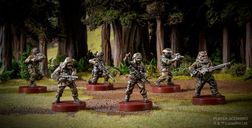 Star Wars: Legion - Rebel Pathfinders Unit Expansion miniatures