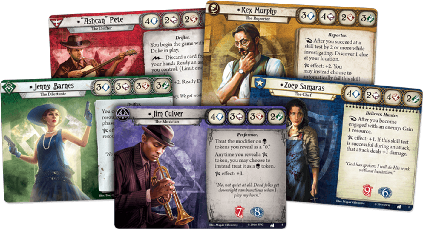 Arkham Horror: The Card Game - The Dunwich Legacy cards