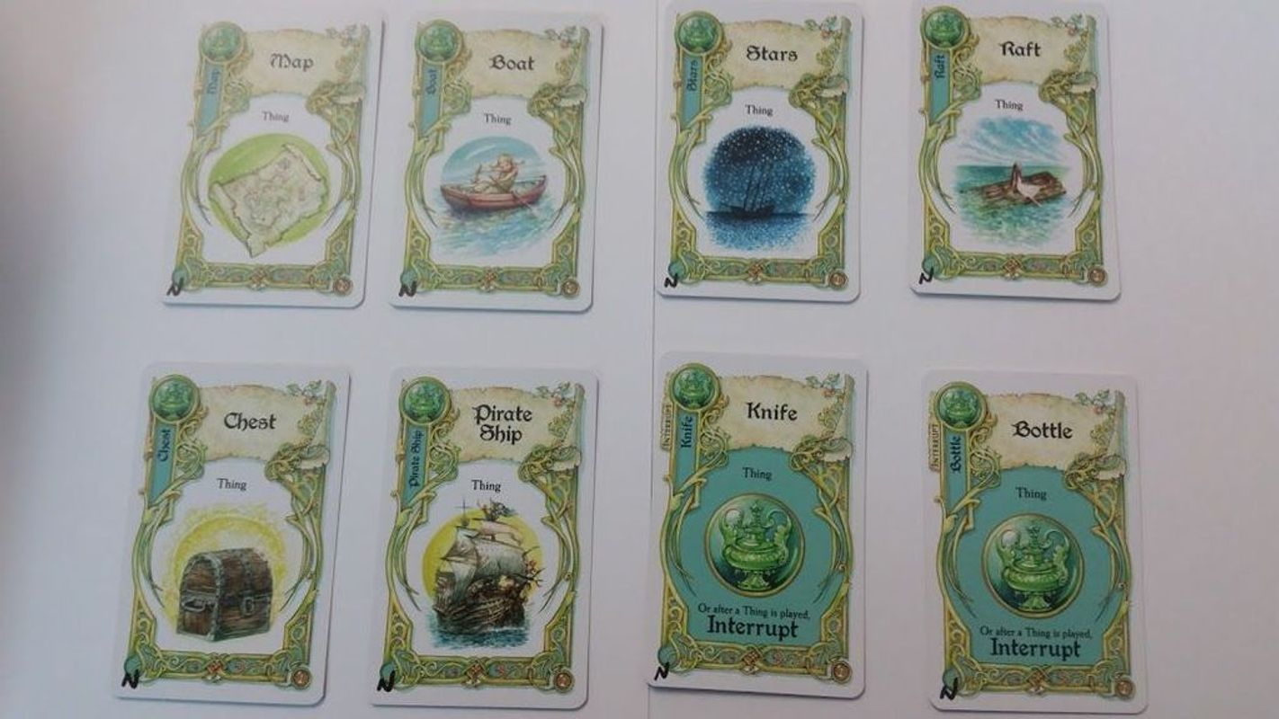 Once Upon a Time: Seafaring Tales cards