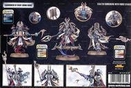 Warhammer 40,000 Chaos Heretic Astartes Thousand Sons: Exalted Sorcerers back of the box