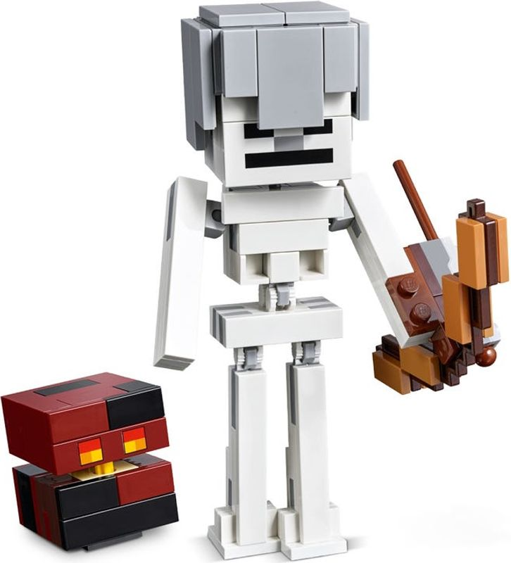 Skeleton BigFig with Magma Cube components