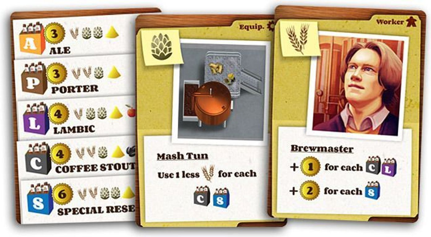 Brew Crafters: Travel Card Game cards