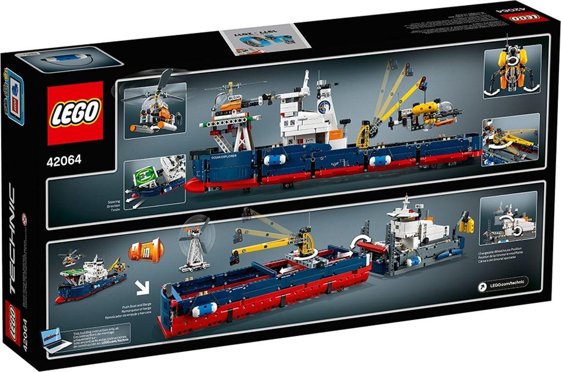 LEGO® Technic Ocean Explorer back of the box