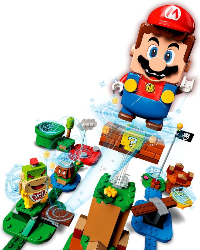 Adventures with Mario Starter Course components
