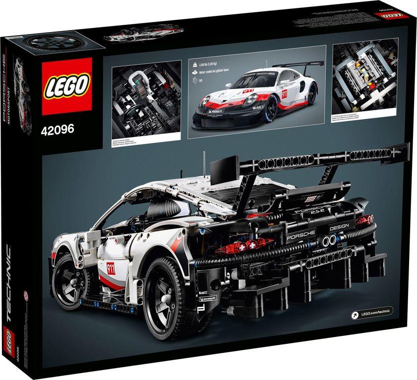 Porsche 911 RSR back of the box