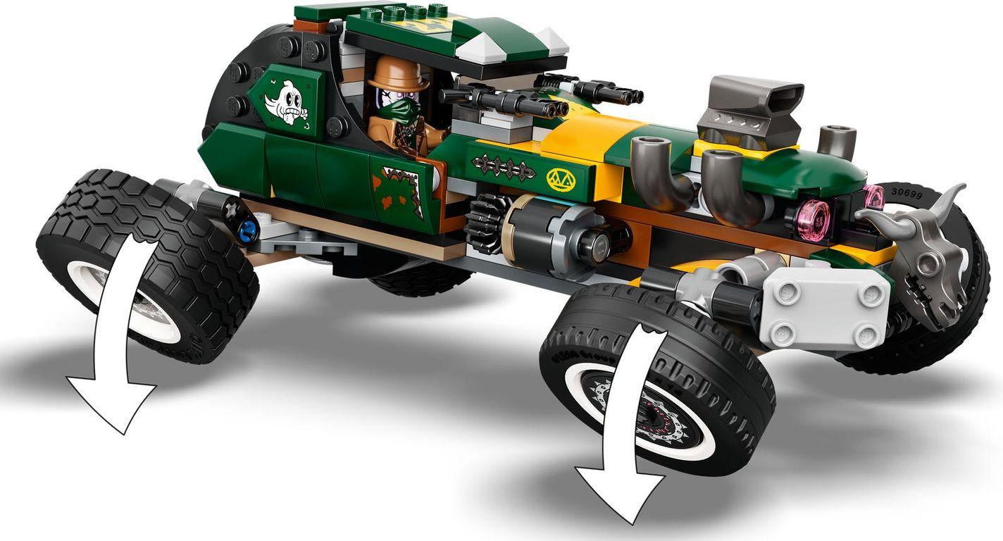 LEGO® Hidden Side Supernatural Race Car components