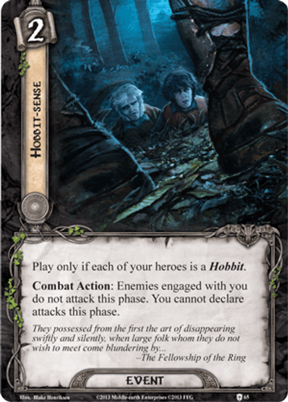 The Lord of the Rings: The Card Game - Encounter at Amon Dîn card