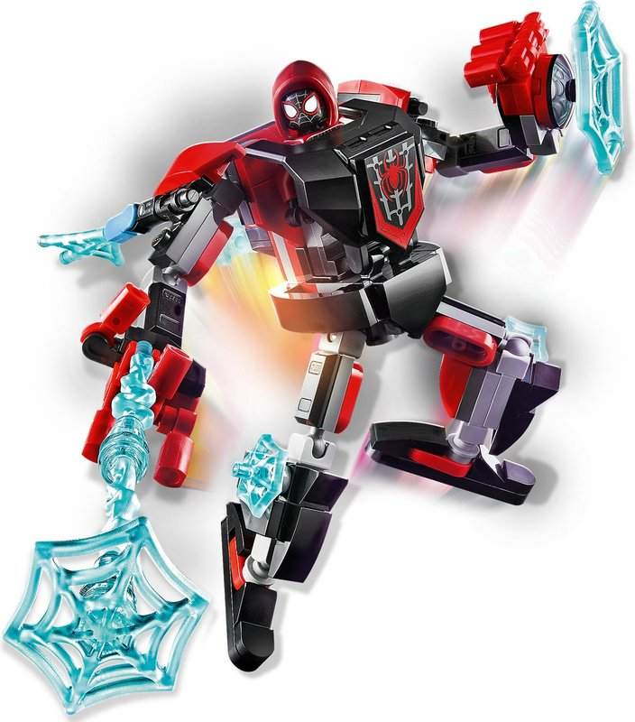 Miles Morales Mech Armor components
