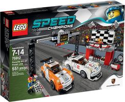 LEGO® Speed Champions Porsche 911 GT finish
