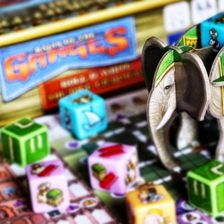 Rajas of the Ganges: The Dice Charmers components