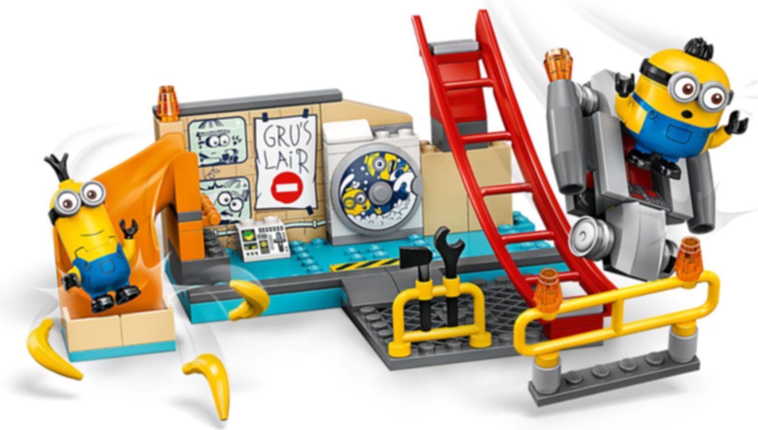 LEGO® Minions Minions in Gru's Lab gameplay