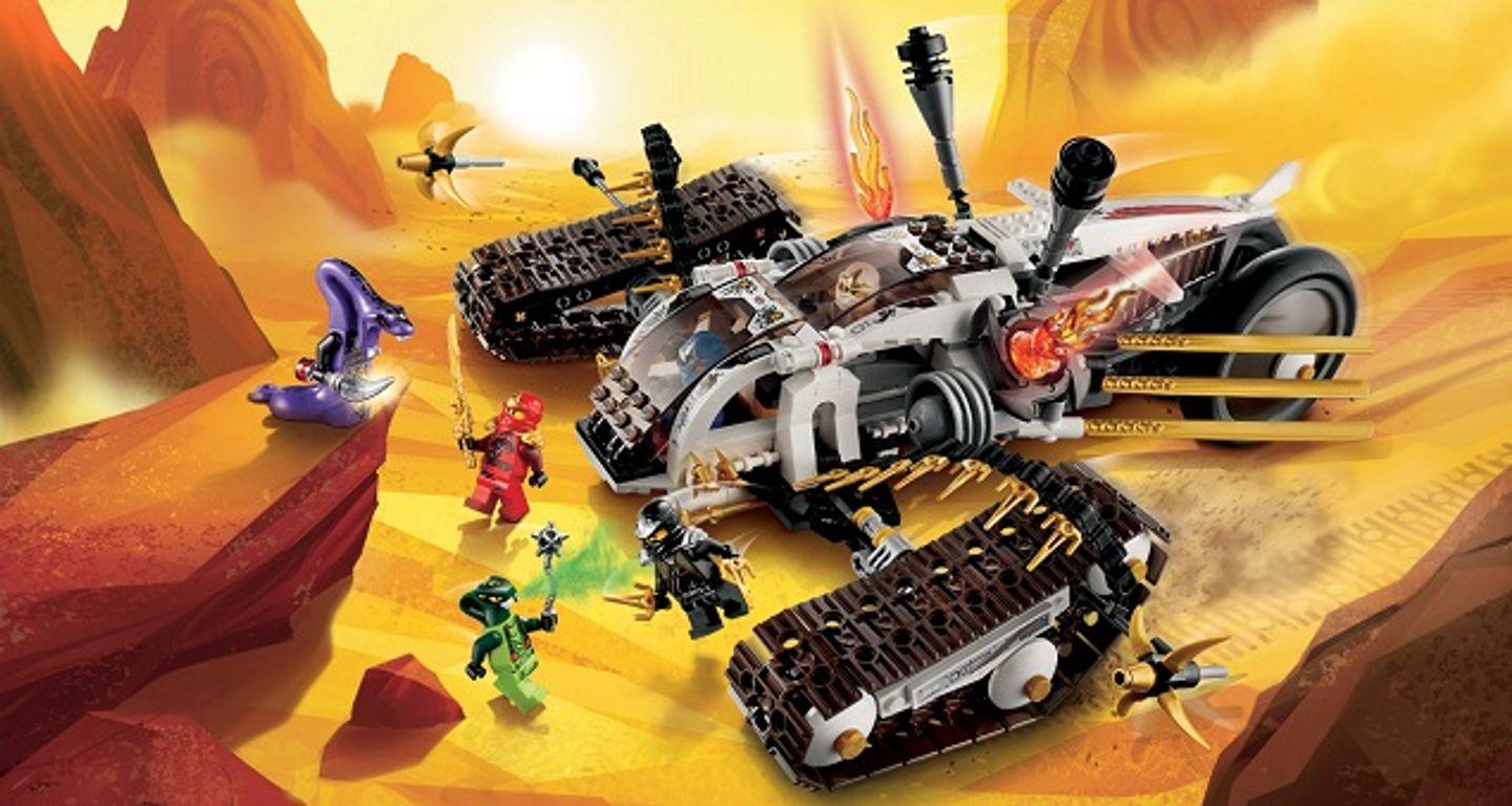 LEGO® Ninjago Ultra Sonic Raider gameplay