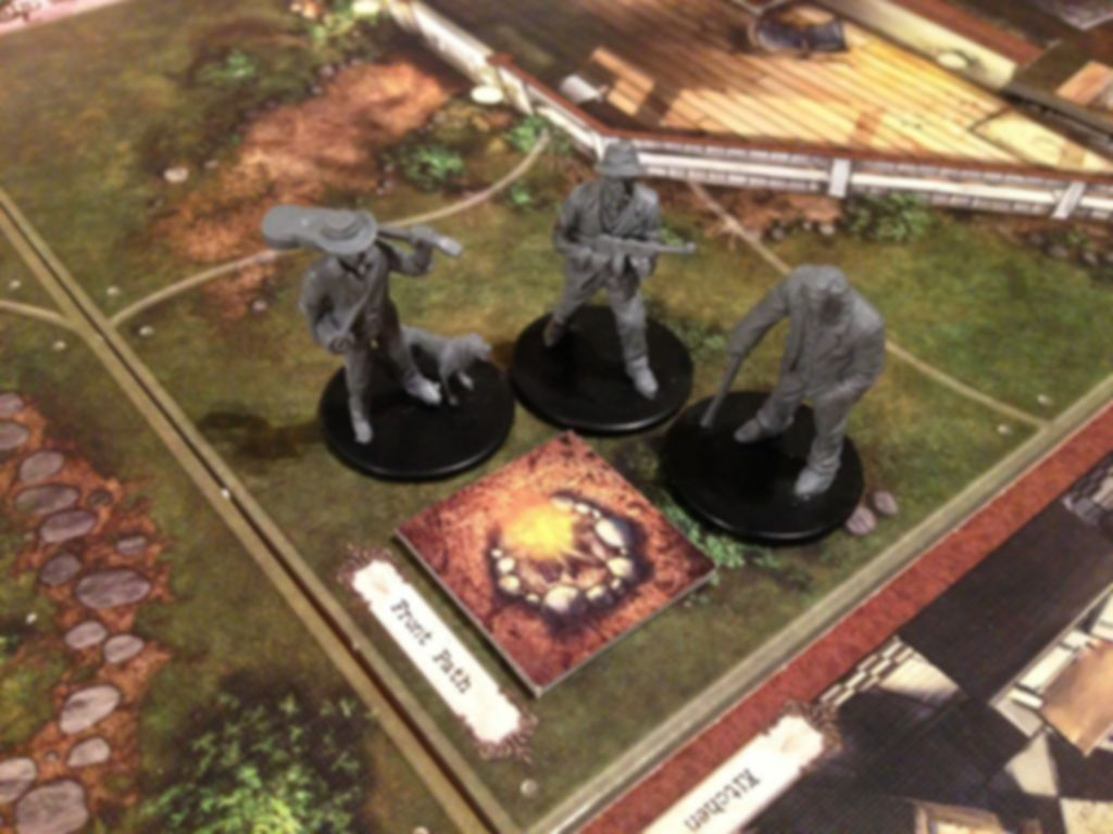 Mansions of Madness: The Yellow Sign gameplay