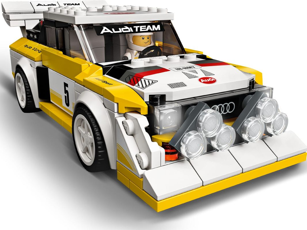 1985 Audi Sport quattro S1 components