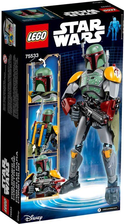 LEGO® Star Wars Boba Fett™ back of the box