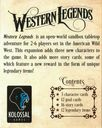 Western Legends: The Good, the Bad, and the Handsome back of the box