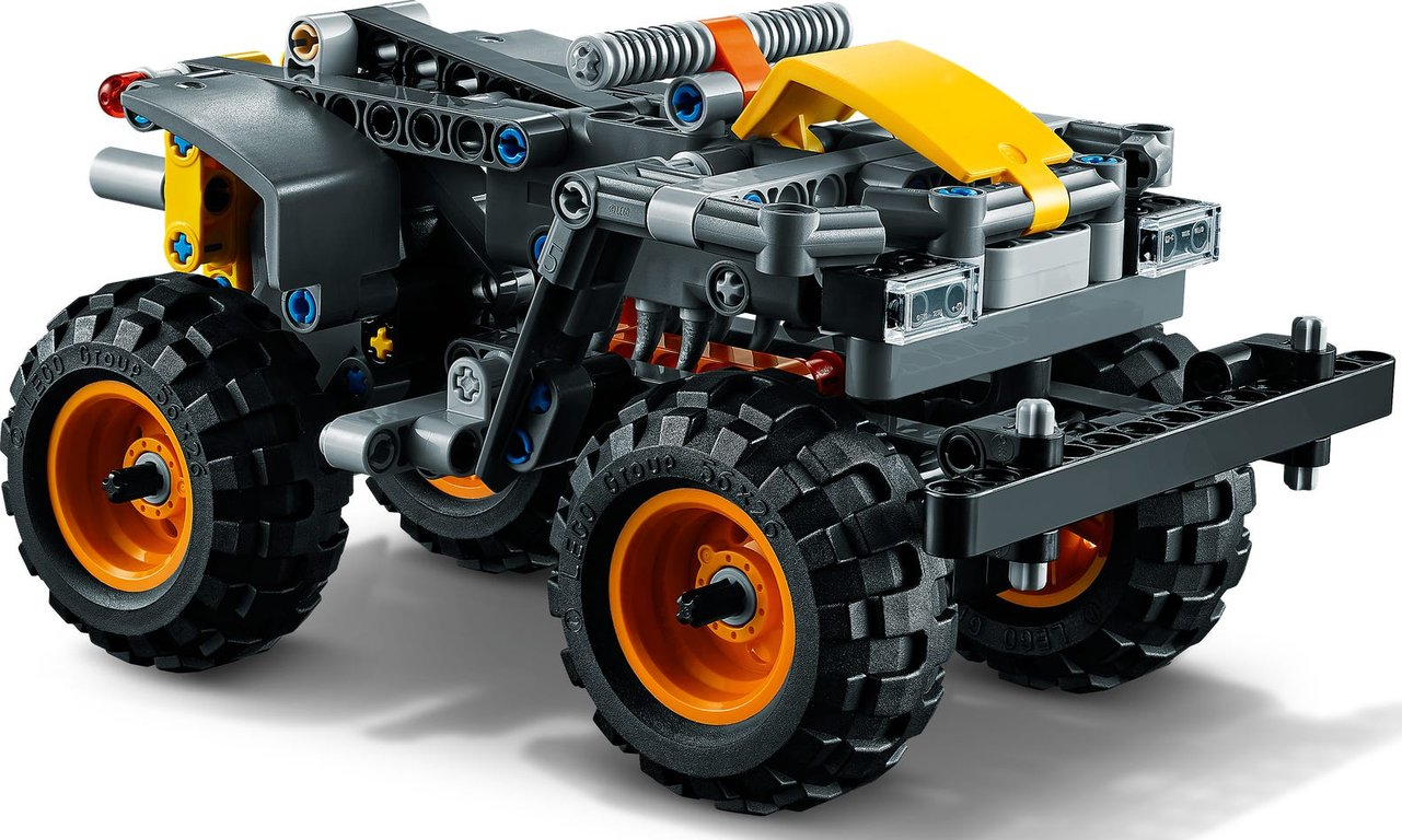 LEGO® Technic Monster Jam® Max-D® back side