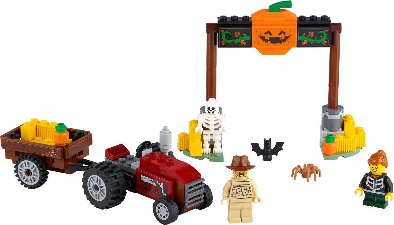 Halloween Hayride components