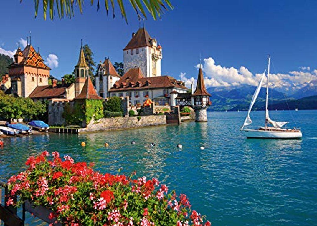 At the Thuner Lake, Bern