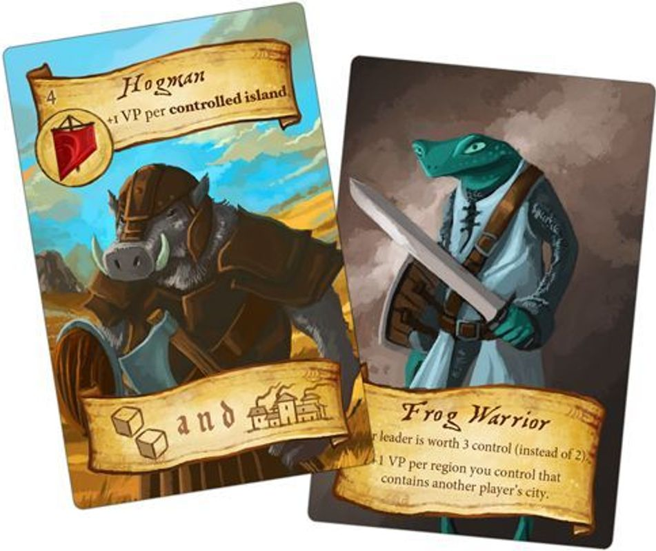 Eight-Minute Empire: Lost Lands cards