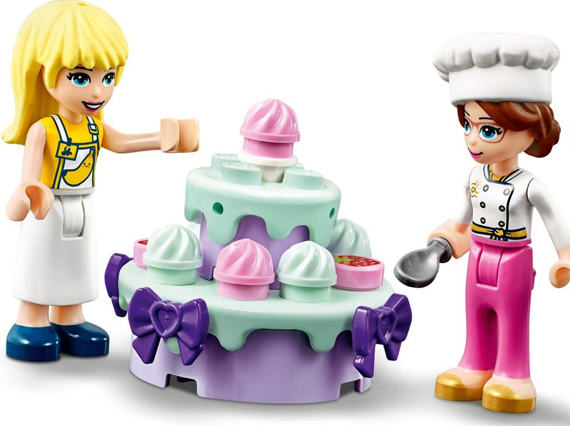 Baking Competition minifigures