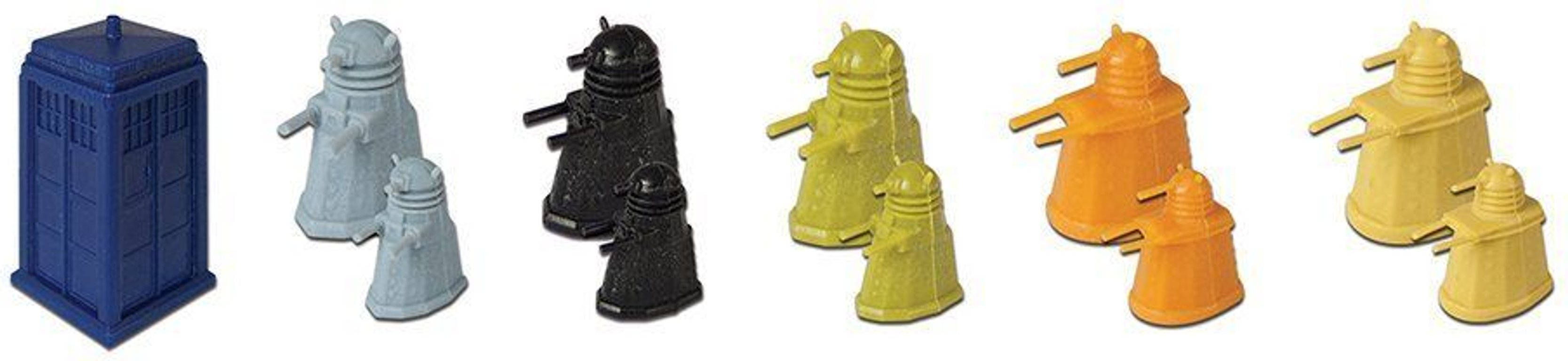Risk: The Dalek Invasion of Earth miniatures