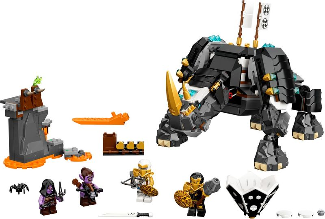 LEGO® Ninjago Zane's Mino Creature components
