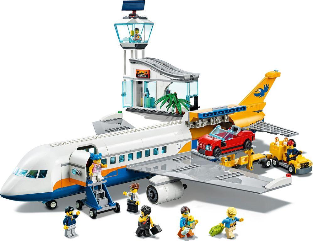 LEGO® City Passenger Airplane gameplay