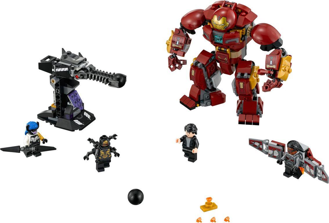 The Hulkbuster Smash-Up components