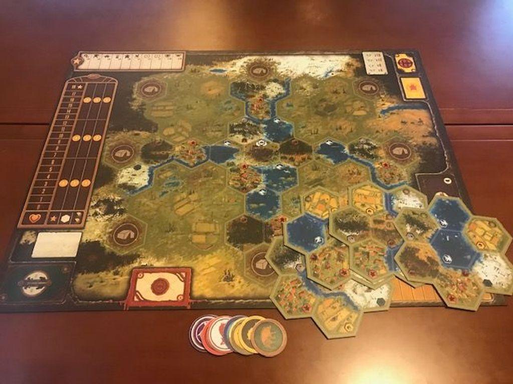 Scythe: Modular Board components