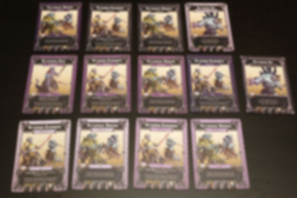 Massive Darkness: Enemy Box - Reptisaurians cards
