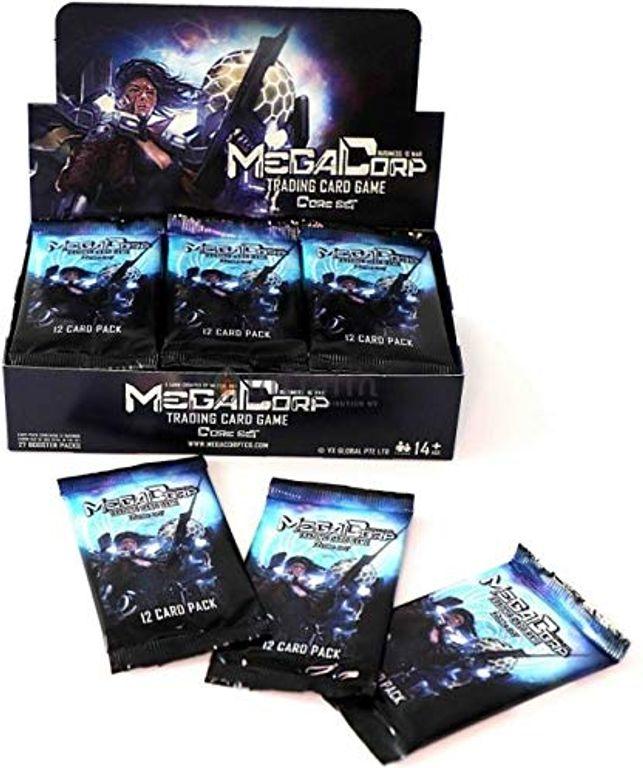 MegaCorp - Business is War - Booster Display (27) Inglés vídeo Juego