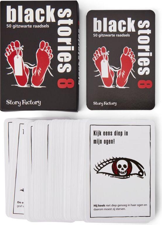 Black Stories 8 cards