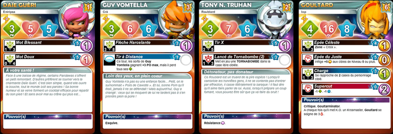 Krosmaster: Arena - Goultard Control cards