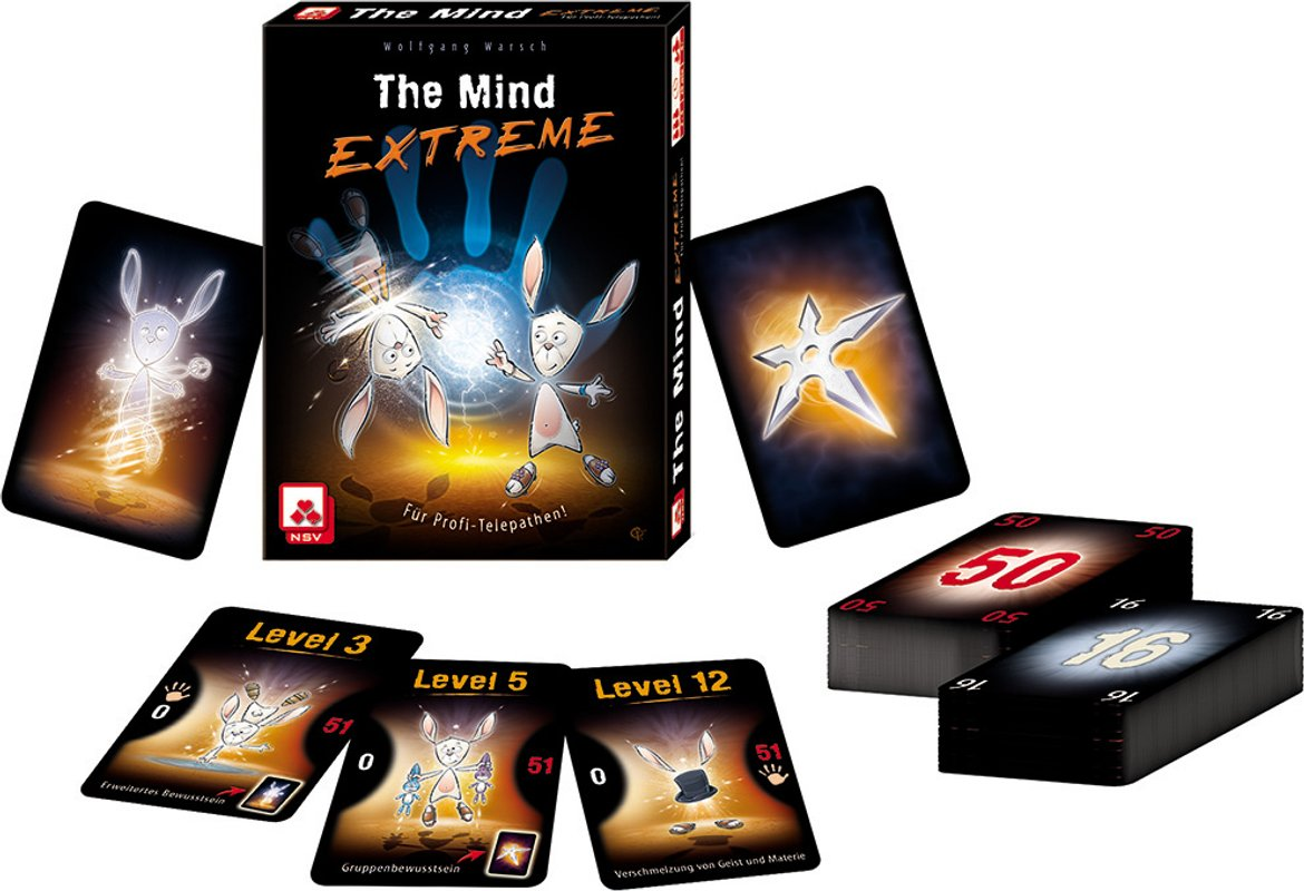 The Mind Extreme cards